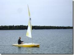 Brian sailing